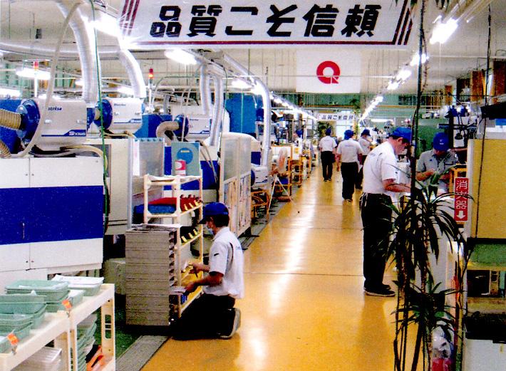 工場内の画像